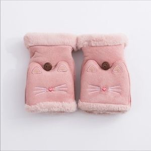 **Coming Soon** Kitty Cat Convertible Mittens